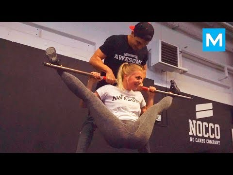 Thumbnail: Explosive Fitness Couple - Daniel & Malin | Muscle Madness