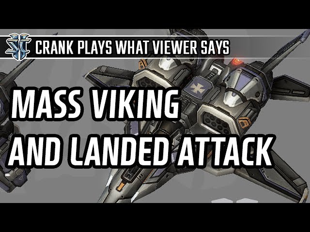 Mass viking into landed viking attack in Terran vs Terran l StarCraft 2: Legacy of the Void l Crank
