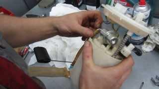 Как поменять  топливный фильтр на Киа Сид 2008 Kia Ceed