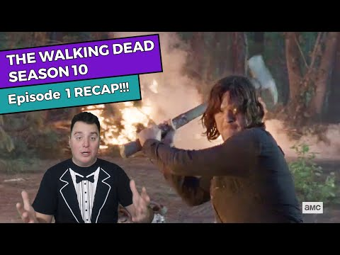 The Walking Dead - Season 10 Episode 1 RECAP!!!