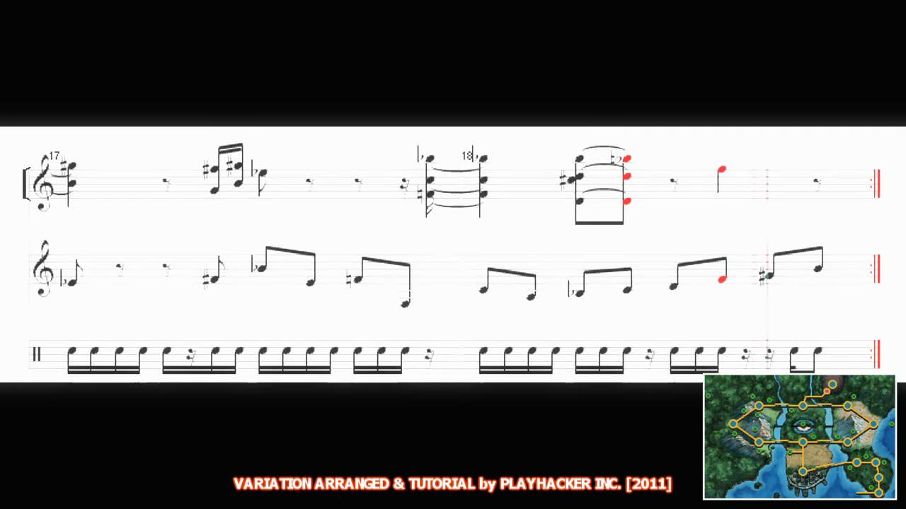 Pok 233 Mon Black White All Unova Music Medley Part 1 In Hd 増田 順一 Sheet Music Youtube