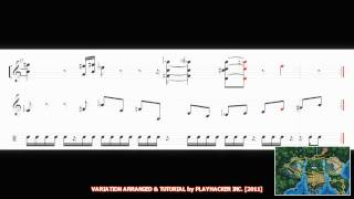 Pokémon Black/White - ALL UNOVA MUSIC MEDLEY PART 1 in HD 増田 順一 - SHEET MUSIC