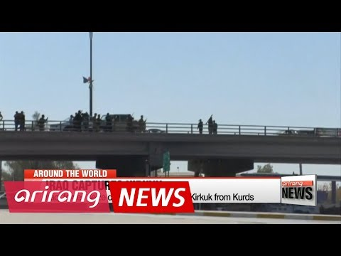 Iraqi forces seize oil city Kirkuk from Kurds in bold advance