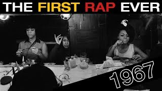 The FIRST Rap Song Ever Recorded!
