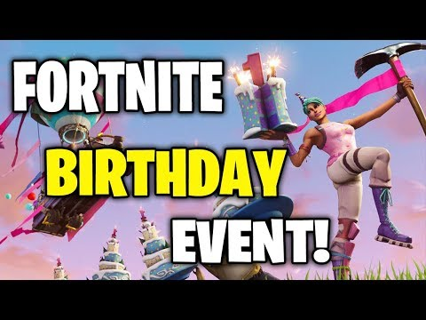 Fortnite Birthday Event   Battle Royale Season 5
