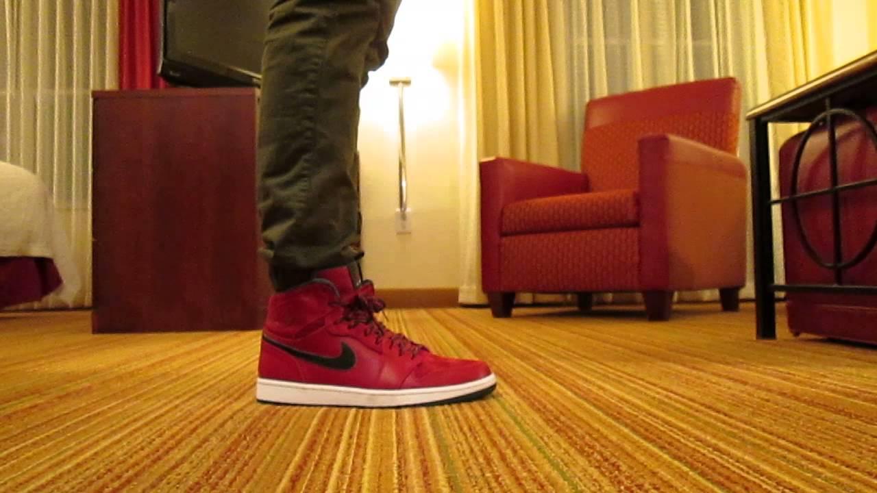 voyage dom tom - Air Jordan 1 Retro High Premier ON FEET Review - Gucci/Christmas ...