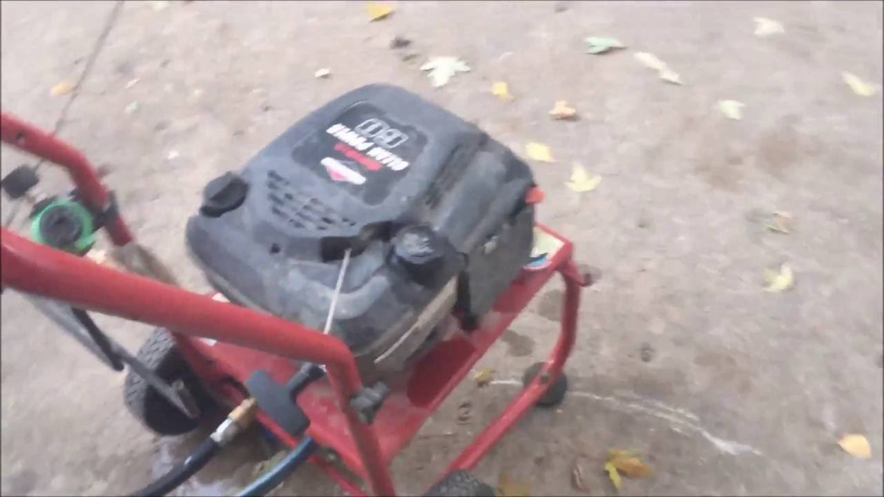 hight resolution of fix generac pressure washer will not build pressure how to