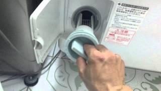 Máy giặt nội địa hàng bãi National NA-VR1100 giặt 9 sấy 6 bằng block - Hàng nhật 123.com