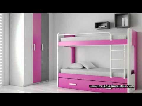 MUEBLES INDUSTRIA Dormitorios juveniles Kids Up  YouTube