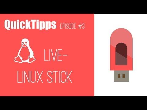 Linux Live USB Stick erstellen/brennen (Ubuntu/ Mint/ Suse) - Tutorial deutsch