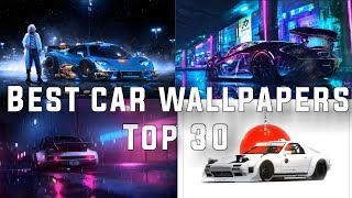 Gambar cover Top 30 Best Cars Wallpapers For Wallpaper Engine + Download Links In The Description