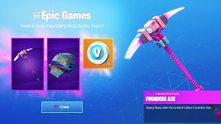 The NEW FREE Founders Pack in Fortnite...