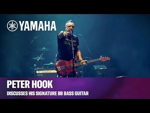 Yamaha   Peter Hook Discusses His Signature BB Bass Guitar