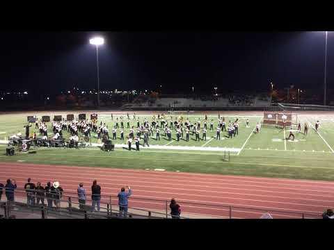 Laguna Creek Highschool Marching Band Franklin 2017