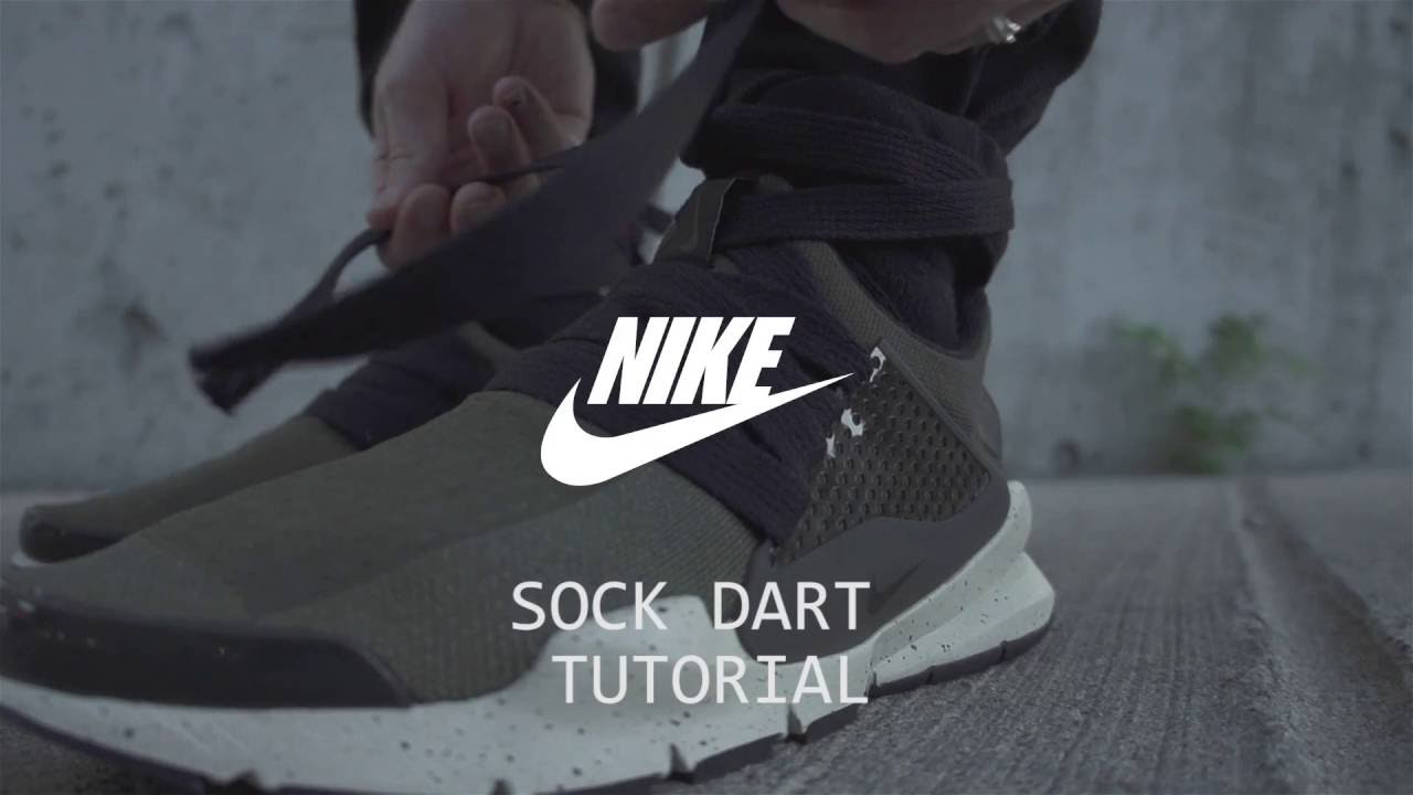 92837c9fd908f Nike Sock Dart Mod Tutorial - YouTube