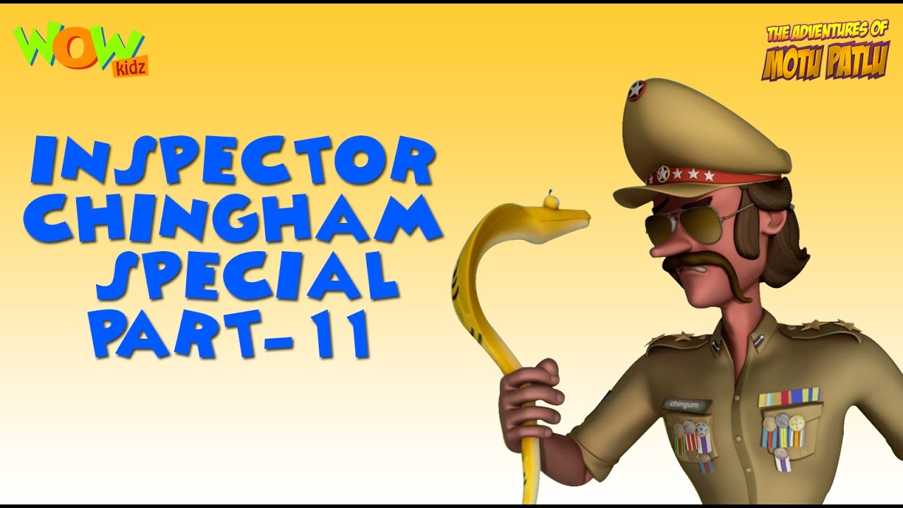 Inspector Chingam Special Part 11 Motu Patlu Compilation As Seen