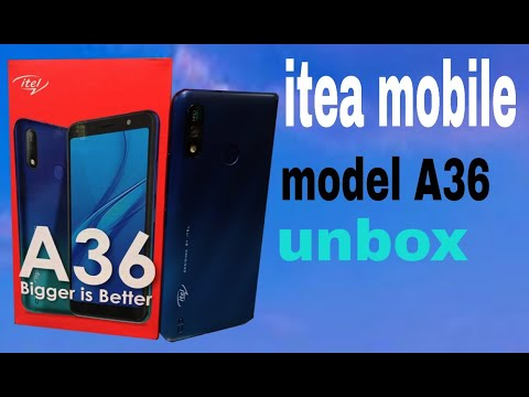 ITEL mobile model A36 unboxing