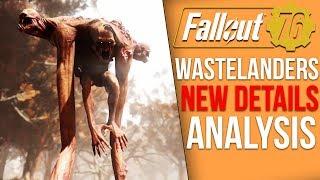Fallout 76's New Wastelanders DLC Explained - Human NPCs, Dialogue Choices, Trailer Breakdown