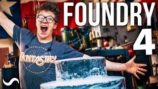 BUILDING A FOUNDRY!!! PART 4