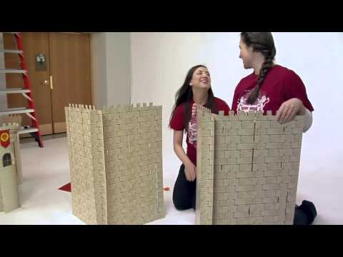 Building Your Majestic Kingdom Rock Castle Display | Vacation Bible School | 2013 Easy VBS | Group