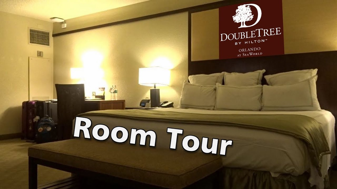 Arriving At Doubletree By Hilton Hotel Orlando At Seaworld Room