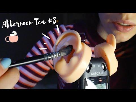 ASMR | Afternoon Tea #8 ☕️LE RETOUR !! Tascam Ear Cleaning