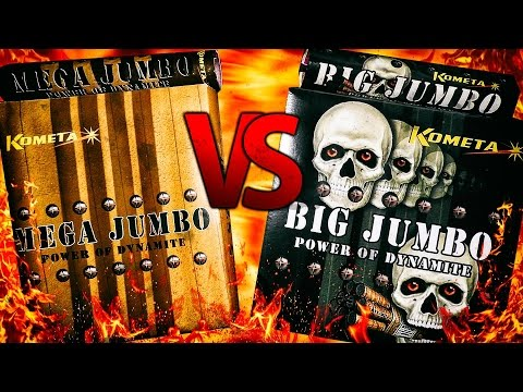 Pojedynek Petard - MEGA JUMBO VS BIG JUMBO