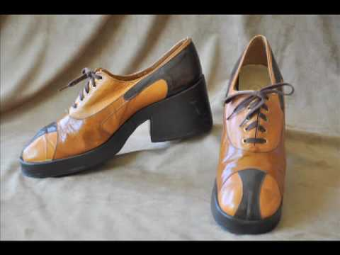 ReTake Vintage Muddy Shoes
