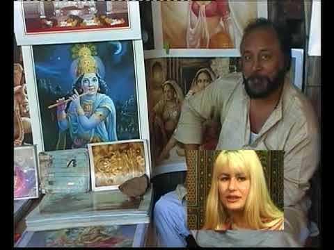Grazyna Przybyl en Hans Plomp over india 14 april 2001