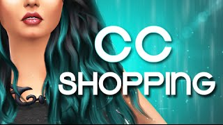 The Sims 4 | Let's Go CC SHOPPING!
