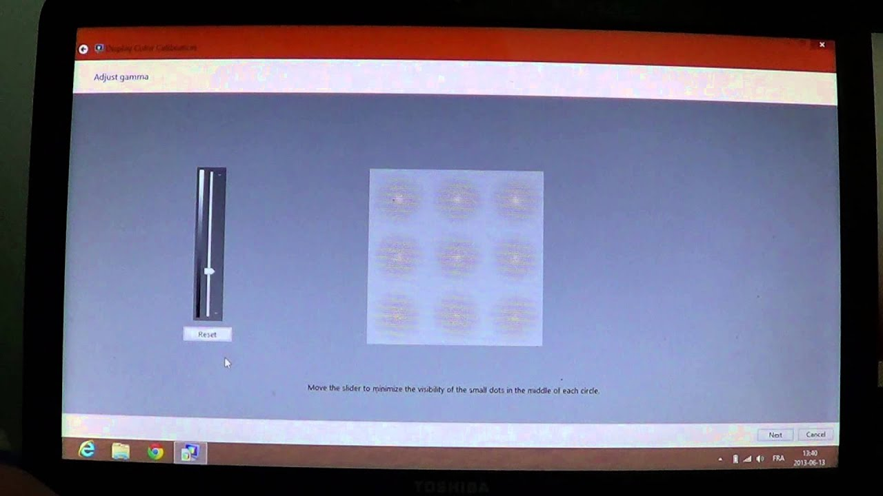 Windows 8 Display Color Calibration