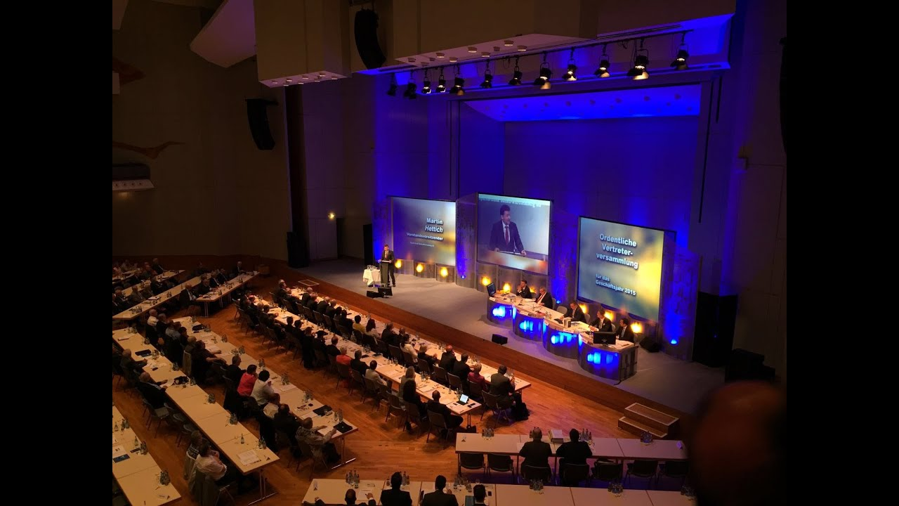 Vertreterversammlung Der Sparda Bank Baden Wurttemberg Eg 2016