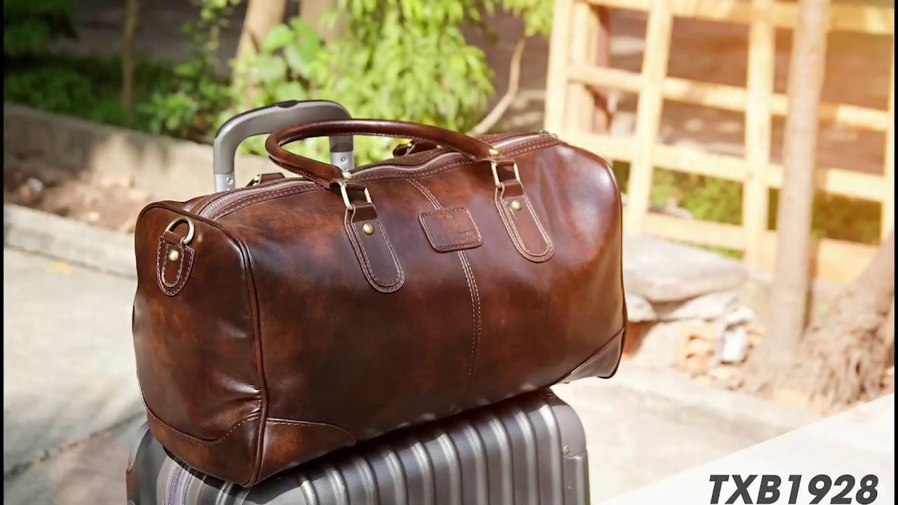 ➥ Túi xách tay đựng đồ đi du lịch bằng da sang trọng-  Babiday.com