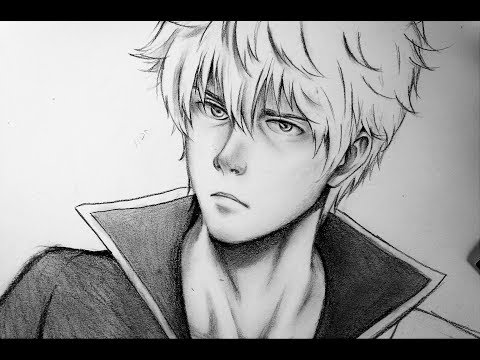 how-to-draw-realistic-anime-character-(sakata-gintoki-)-beginner-tutorials