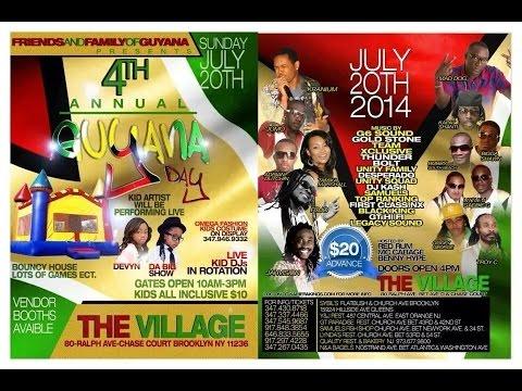 Guyana Day 2014 Festival - The Village (Brooklyn, NY)