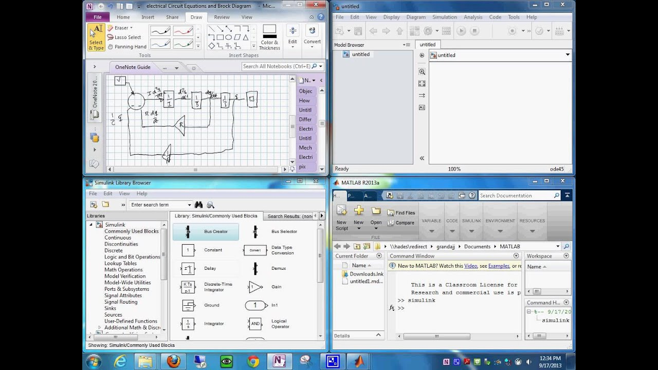 Electrical System Block Diagram in Simulink (Cont) 1792013 1238 53 ...