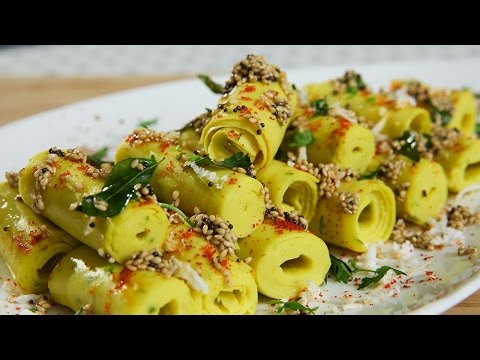 Khandvi recipe gujarati recipes how to make khandvi gujarati khandvi recipe gujarati recipes how to make khandvi gujarati snack recipe ruchis kitchen rajshri food forumfinder Image collections