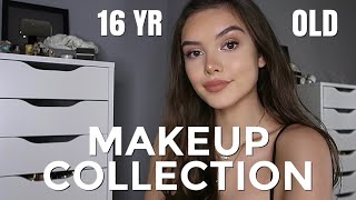 2019 MAKEUP COLLECTION OF A 16 YEAR OLD! | India Grace