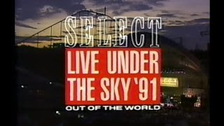 Live Under The Sky '91