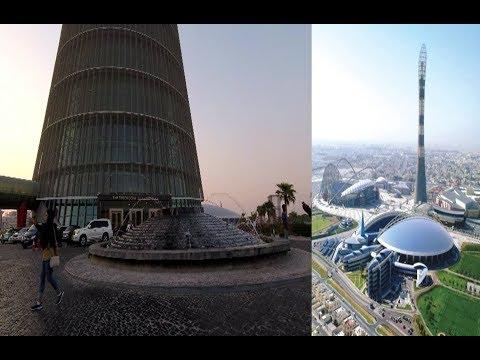 Amazing Torch tower, Aspire zone, Doha, Qatar