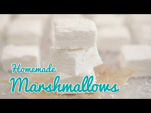 How To Make Homemade Marshmallows (Corn Syrup Free) - Gemma's Bold Baking Basics Ep 25