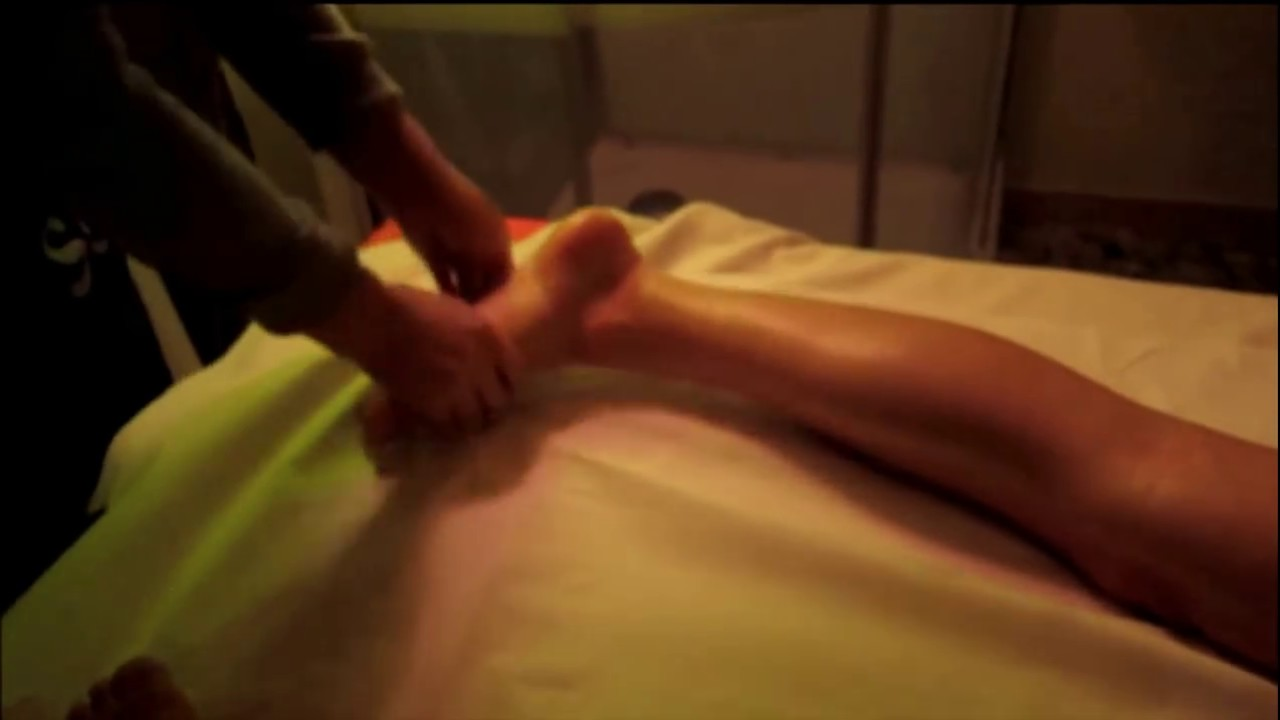 leg massage youtube