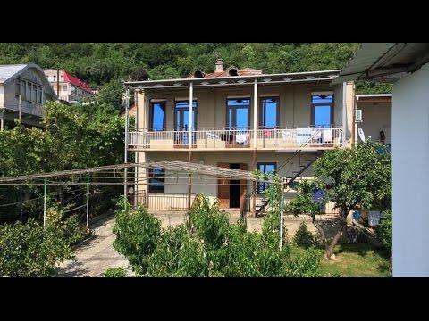 Отдых в Абхазии Гагра Guest House Archi Аренда комнат посуточно