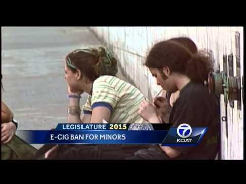 E-Cig Ban for Minors