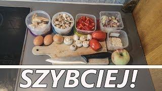 3 WSKAZÓWKI jak przygotować szybciej posiłki