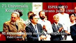 Nueva Edición, Fidel y el Esperanto
