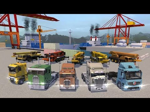 Cargo Ship Manual Crane 18 Android Gameplay