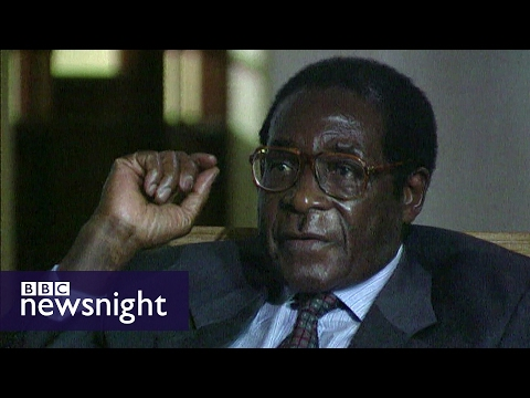 Evan Davis meets Robert Mugabe (2005) - Newsnight archives