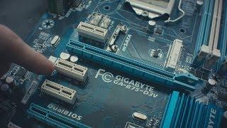 Распределение линий PCI-Express в компьютере