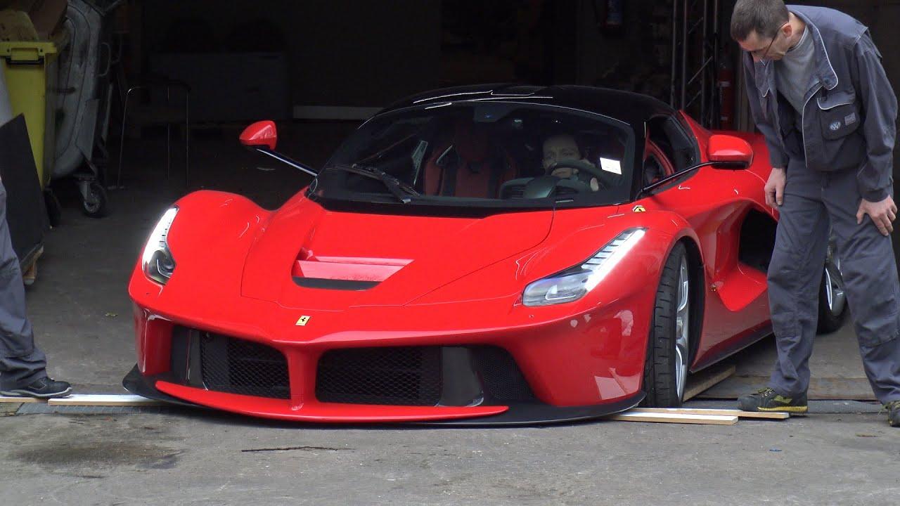 4k Ferrari Laferrari Start Up And Departure At